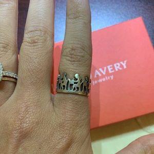 James Avery Teachers Child Ring